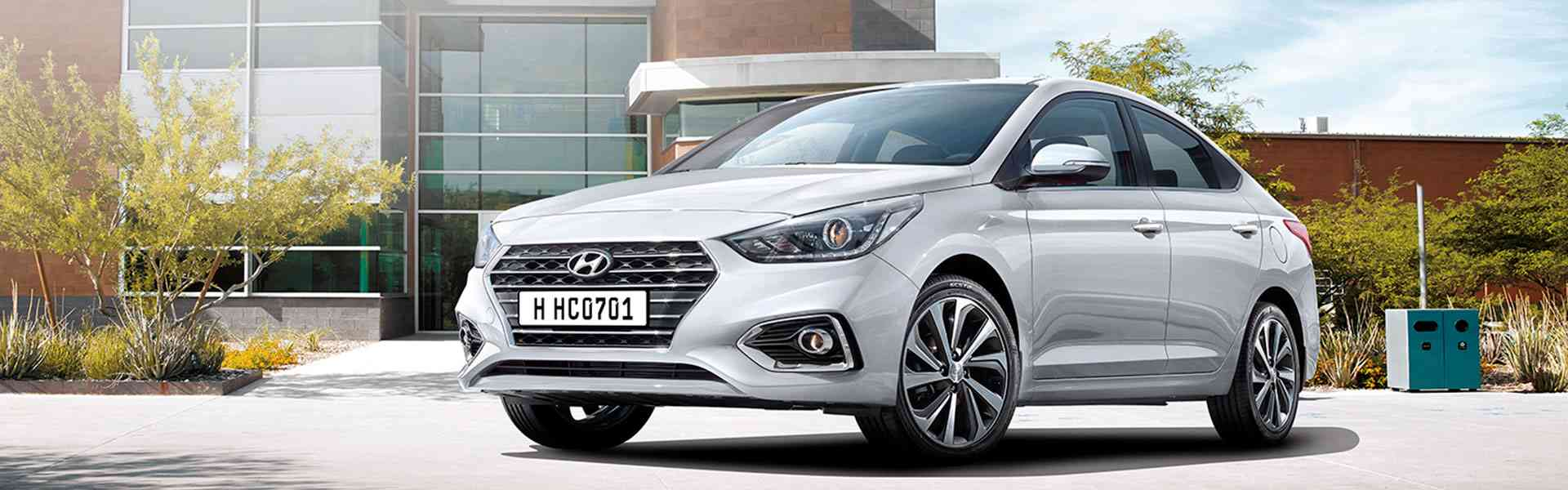 Hyundai Accent New - обзор