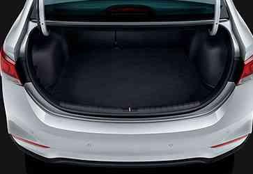 Автоматический багажник - Hyundai Accent New