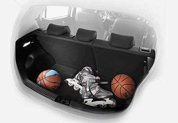 Много места для багажа - Hyundai i10