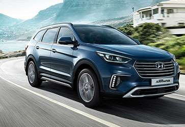 Премиальный  SUV - Hyundai Grand Santa Fe