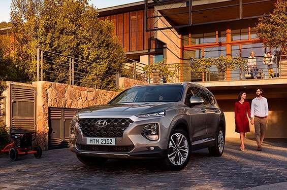 Hyundai Santa Fe New - фото 1