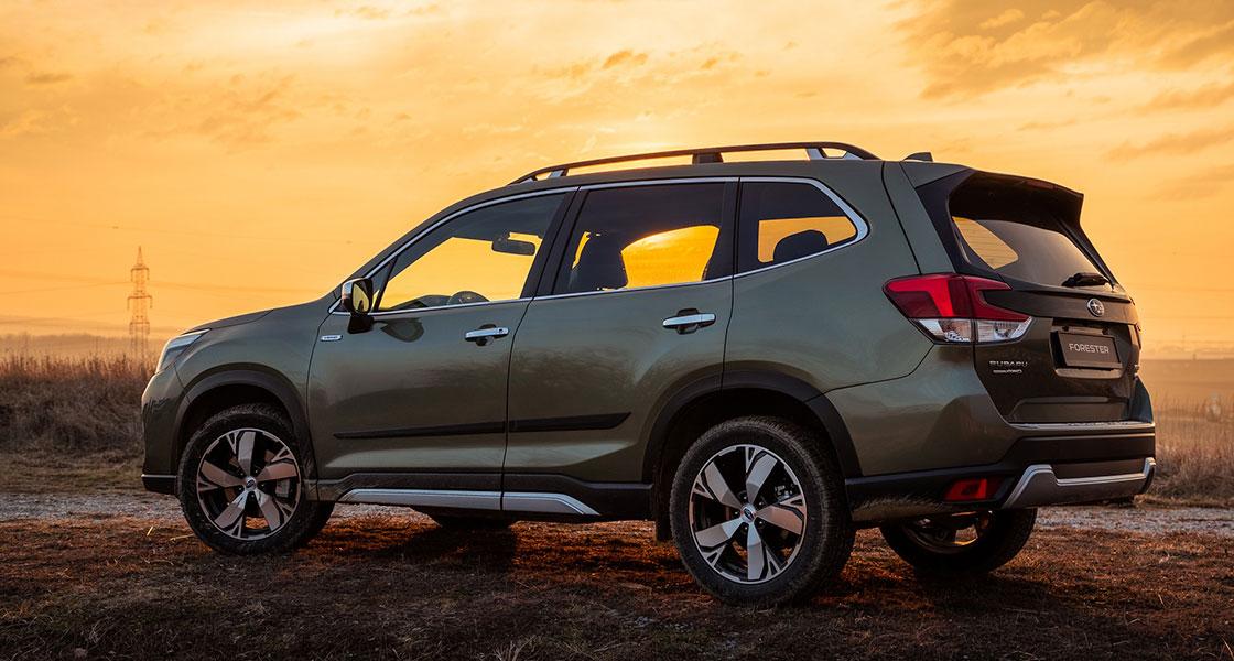 Subaru Forester - характеристики