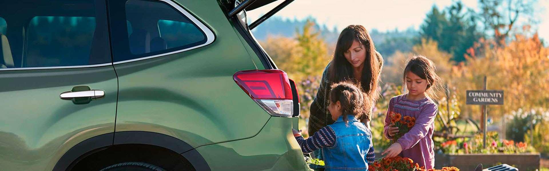 Subaru Forester - обзор