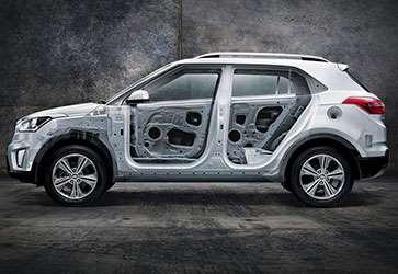 Ультрапрочный кузов - Hyundai Creta