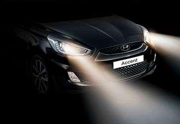 Фари головного світла - Hyundai Accent Classic
