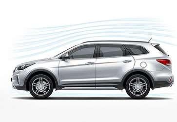 Аэродинамический дизайн  - Hyundai Grand Santa Fe