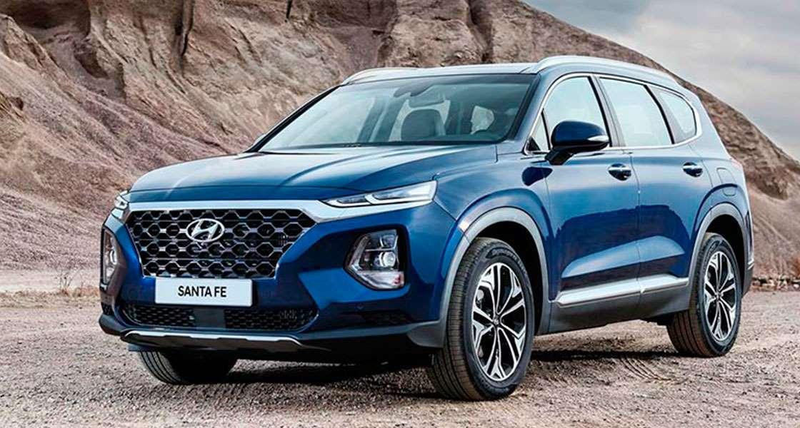 Hyundai Santa Fe New - характеристики