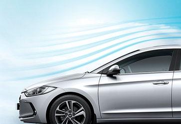 Аеродинаміка - Hyundai Elantra