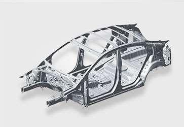 Ультрапрочная сталь  - Hyundai IONIQ Electric