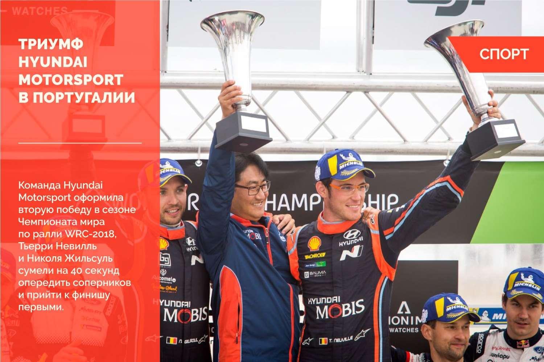 Португальский триумф Hyundai Motorsport