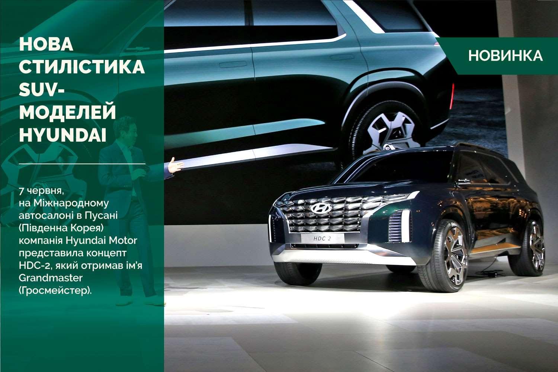 Hyundai Motor представила нове бачення стилістики своїх SUV-моделей