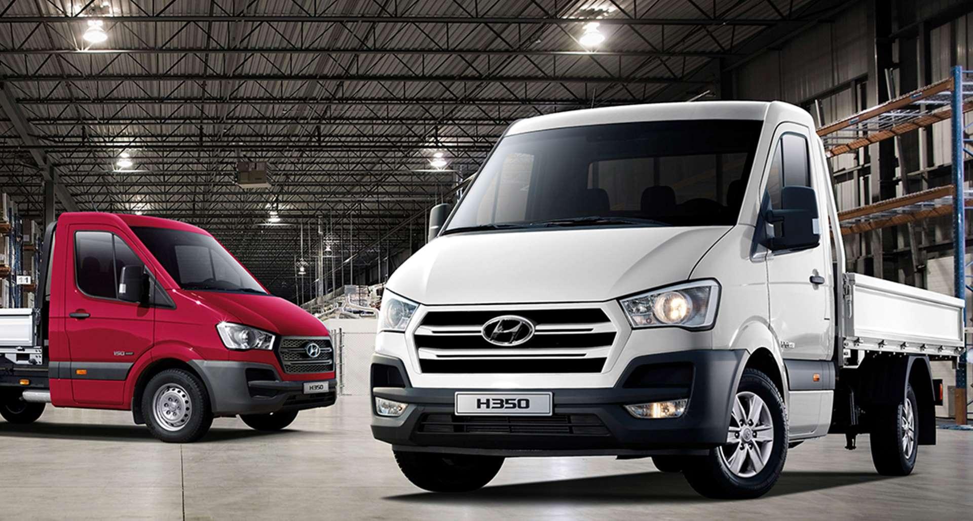 Hyundai H350 - характеристики