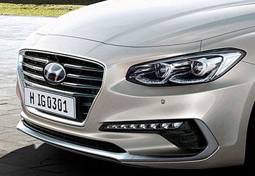 Вишуканий дизайн - Hyundai Grandeur