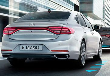 Система  гальмування (AEB) - Hyundai Grandeur