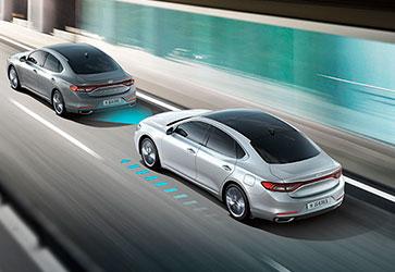 Інтелектуальний круїз-контроль - Hyundai Grandeur