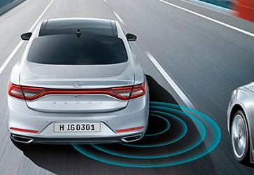 Система виявлення сліпих зон - Hyundai Grandeur