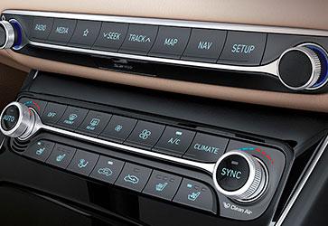 Двозонний клімат-контроль  - Hyundai Grandeur