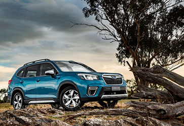 Нова платформа Subaru - Subaru Forester