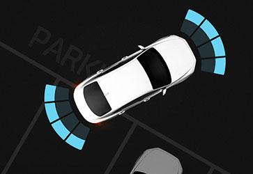 Система допомоги при паркуванні  - Hyundai Grandeur