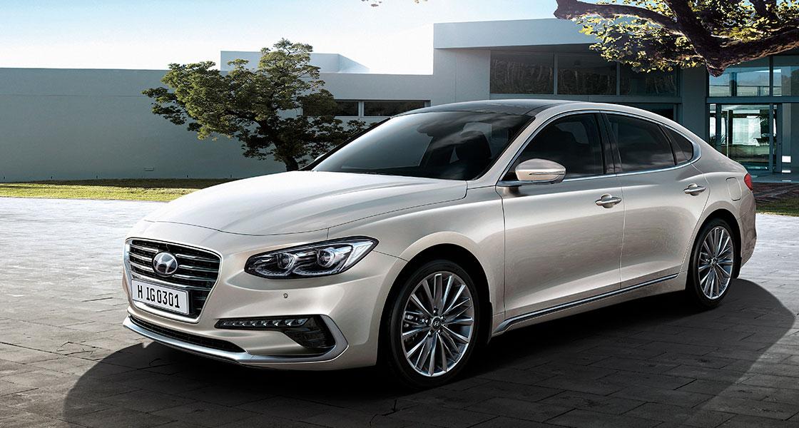 Hyundai Grandeur - характеристики