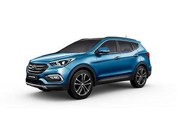 В стиле Storm Edge  - Hyundai Santa Fe