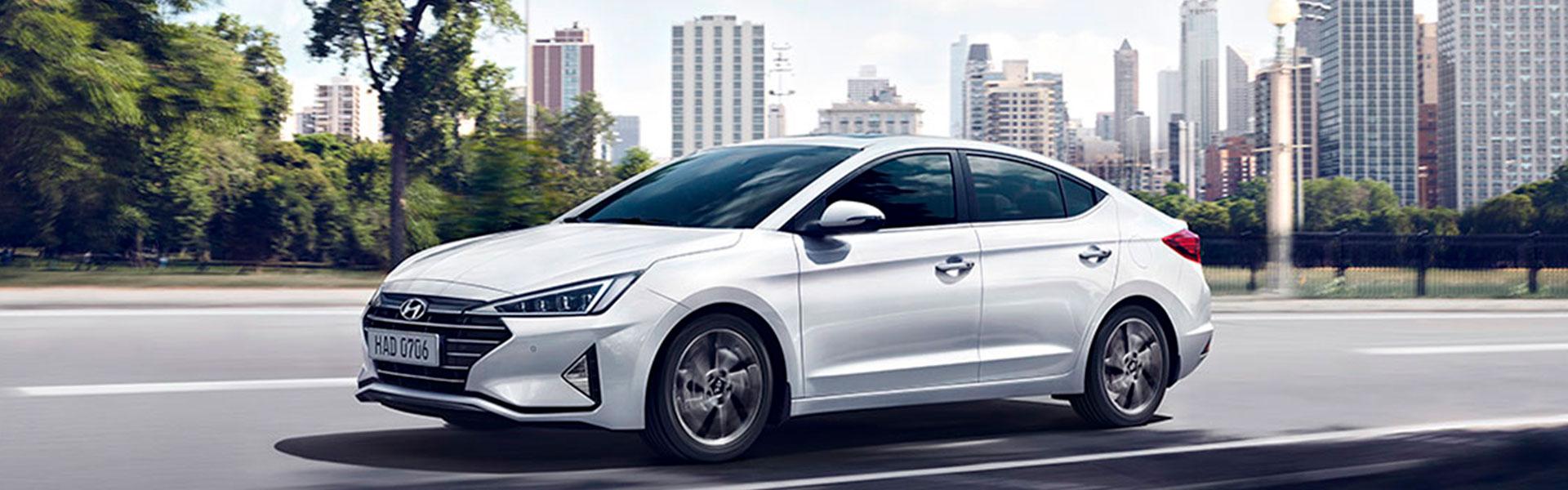 Hyundai Elantra New - обзор