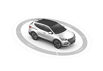 Система кругового обзора - Hyundai Santa Fe