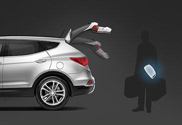 Электропривод багажника   - Hyundai Santa Fe