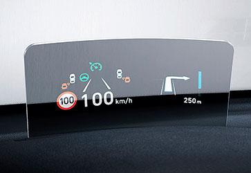 Head-Up дисплей  - Hyundai Kona Electric