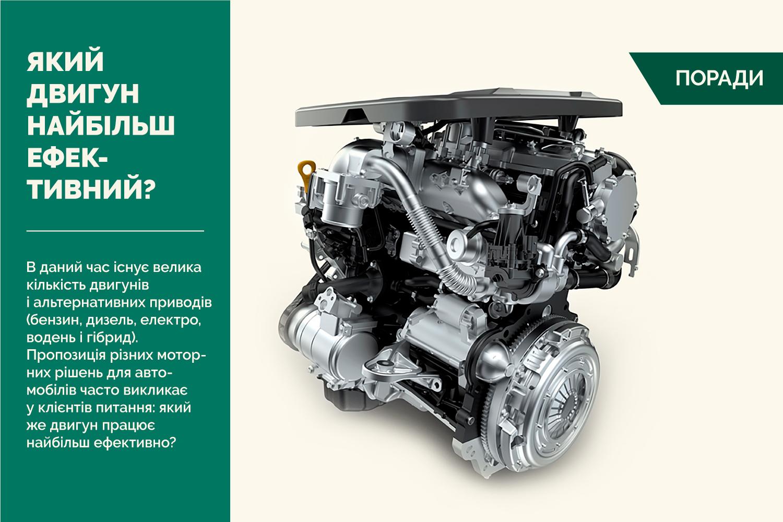Бензин, дизель, електро, водень і гібрид: який двигун найбільш ефективний?
