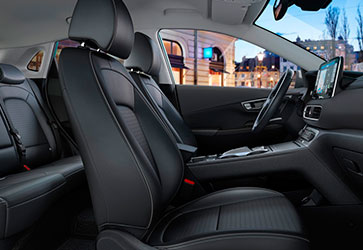 Высокий комфорт  - Hyundai Kona Electric