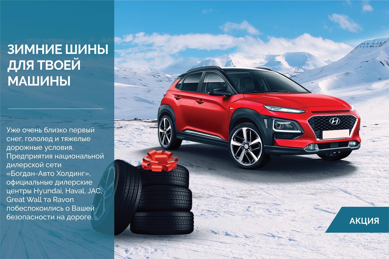 Зимние шины для твоей машины