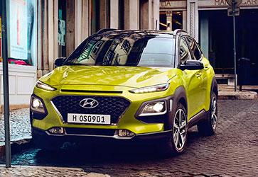 Отличительный дизайн кузова - Hyundai Kona