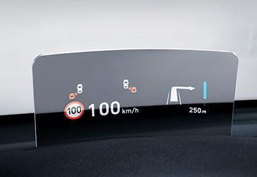 Head-up дисплей  - Hyundai Kona