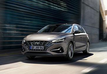 """Обновленная """"тридцатка""""  - Hyundai i30 Hatchback"""