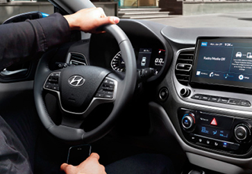 Современные мультимедиа  - Hyundai Accent