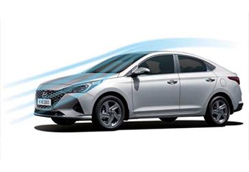 Усовершенствованная аэродинамика  - Hyundai Accent