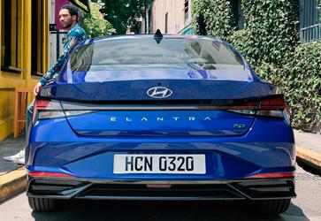 Улучшенная безопасность  - Hyundai Elantra New