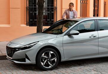 Современные мультимедиа  - Hyundai Elantra New
