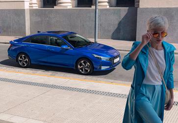 Мощный двигатель  - Hyundai Elantra New