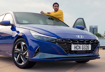 Обновленный и улучшеный свет  - Hyundai Elantra New