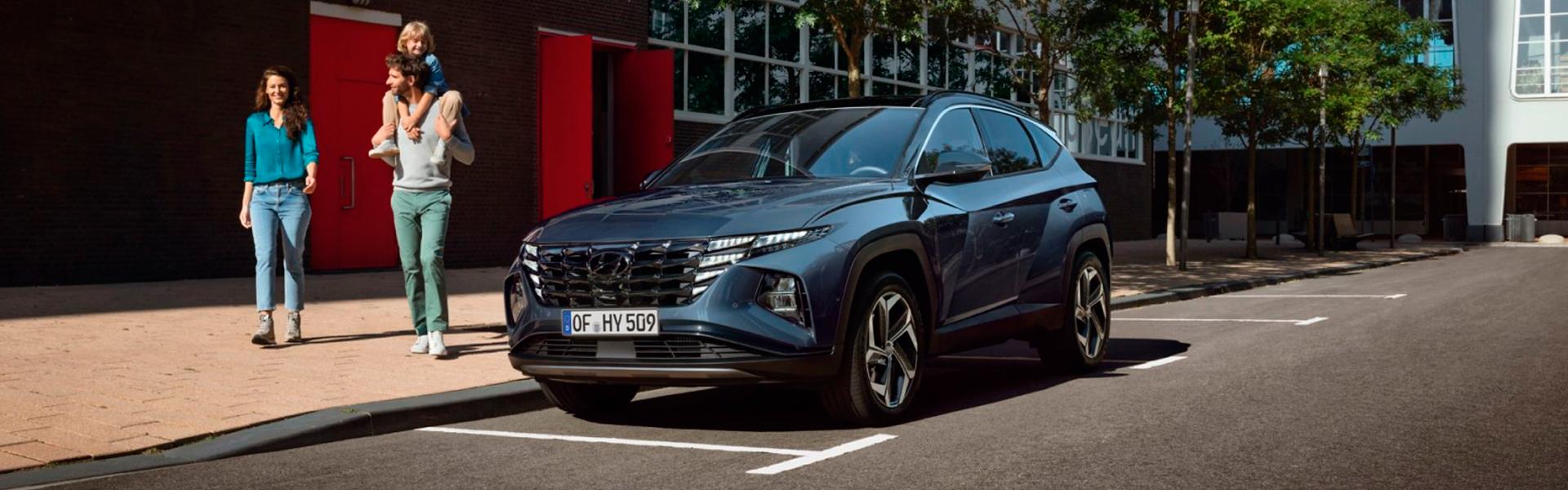 Hyundai Tucson Hybrid - обзор