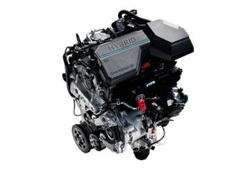 Електрифікований двигун - Hyundai Tucson Hybrid