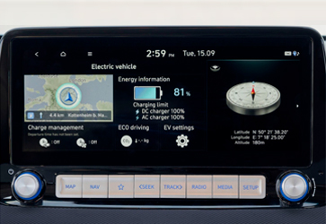 Технологічність - Hyundai KONA Electric  New