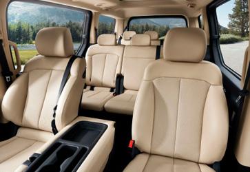Варіативність простору - Hyundai STARIA