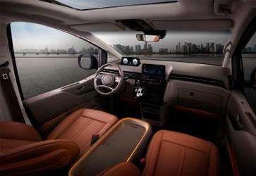 Зручність - Hyundai STARIA